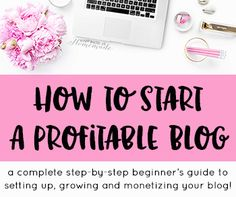 How to Start a Profitable Blog for Beginners: Part 5 - Monetize your blog with ad networks. Start making money doing what you love!
