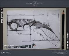 mini kukri / Yagd terrier / design Aslan чик / KNIVES & DESIGN