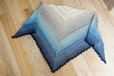 A Time For All Seasons: Free Crochet Shawl Pattern for Luria Shawl