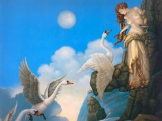 Leda and the Swan. ~ETS