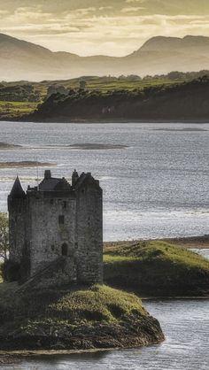 Castle Stalker. Scotland