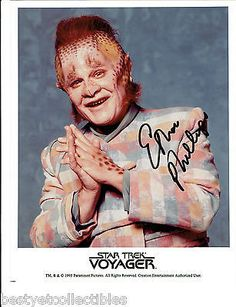 Ethan Phillips Neelix Autographed Signed Rare Star Trek Voyager Licensed Photo