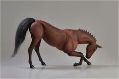 Realistic BJD Horse by ElleoDolls on Etsy