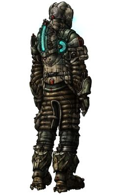 Dead Space 3 - Legionary Suit, Back
