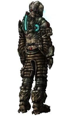 Dead Space 3 - Legionary Suit, Back