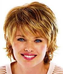 hairstyles for round face older woman - Google Search