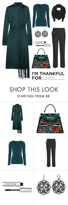 """Untitled #5896"" by im-karla-with-a-k ❤ liked on Polyvore featuring Gabriela Hearst, Fendi, Toga, Bobbi Brown Cosmetics, Simply Vera and Echo"