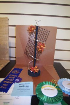 Top award winning Petite Design by Victoria Chandler for the Ellijay, Georgia Flower Show