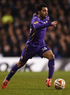 Mohamed Salah, a favor de la Fiorentina: UEFA Europa.
