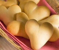 Valentine's Day Dinner Rolls