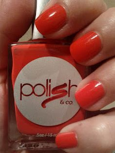 Polish & co nail polish review in Too Much Information