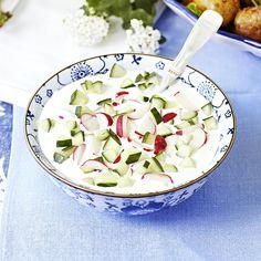 Recipe For Raita, Starters, Pasta Salad, Pickles, Potato Salad, Curry, Vegetarian, Cooking, Ethnic Recipes