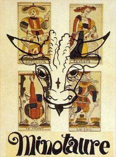 Minotaure 1933 - cover André Derain, 1933