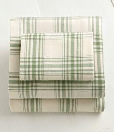 Ultrasoft Comfort Flannel Sheet Set, Windowpane