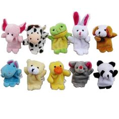 Back to school gifts for students from teachers - Animal Finger Puppet Set