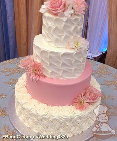 16th Birthday Cake For Girls, 19th Birthday Cakes, Pink Birthday Cakes, Wedding Cake Display, Wedding Cake Decorations, Wedding Cake Designs, Victorian Wedding Cakes, Dummy Cake, Cream Wedding Cakes