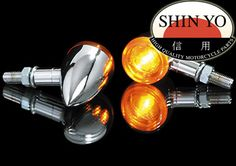 aluminium chrome Shin Yo Mini Clignotants Arizona Shin Yo universal