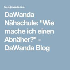 "DaWanda Nähschule: ""Wie mache ich einen Abnäher?"" - DaWanda Blog"
