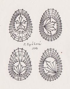velikonoce | Galerie.cz Bobbin Lace Patterns, Lacemaking, Lace Heart, Lace Jewelry, Compass Tattoo, Lace Detail, Fabric Crafts, Tatting, Creations