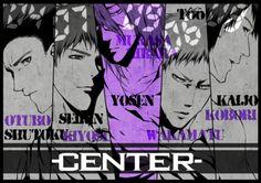 黑子的篮球 Center