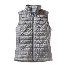 The Patagonia Women's Nano Puff Vest is lightweight, highly compressible, windproof, and water-resistant for warmth. Running In Cold Weather, Winter Running, Puff Vest, Patagonia Vest, Green Vest, Expensive Clothes, Lining Fabric, Trends, Hand Warmers