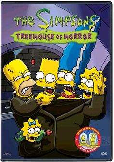I still like to watch this every year. The Simpsons Treehouse of Horror #thesimpsons