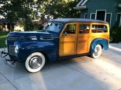 1940 Plymouth P10 Woodie