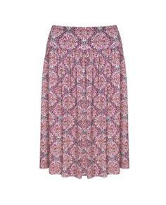 Kaleidoscope Liberty Print Jersey Skirt