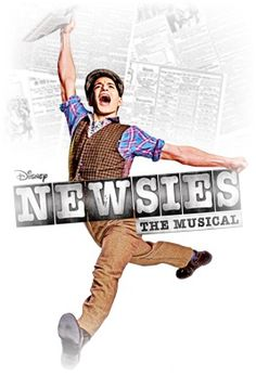 "Newsies: The Musical - Like many of the other musicals, I haven't seen this either. But I enjoy listening to Jeremy Jordan singing ""Santa Fe"" and ""Something to Believe In""."