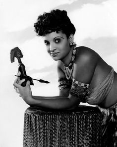 NINA MAE MCKINNEY | BLACK GLAMOUR & GRACE Nina Mae McKinney (1912 – 1967) was an American actress who worked internationally during the 1930s and in the postwar period in theatre, film and television, after getting her start on Broadway and in...