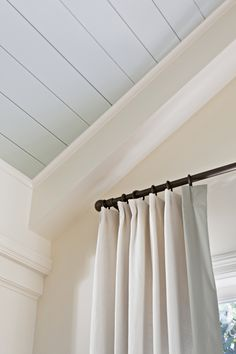 Ceiling - another opportunity to add color if there is something interesting up there. If not, stick with a light neutral to draw attention to other details like bright white crown molding.