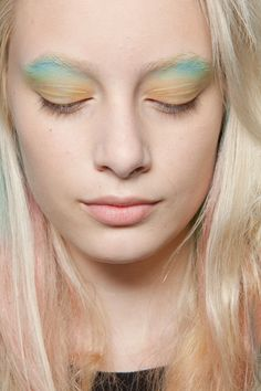 Makeup at Peter Som S/S 2013, New York Fashion Week