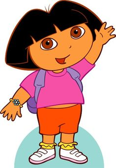 Dora the explorer is our toddler all time favorite, she into Dora more than anything else. She watches the shows, collect Dora, love Dora Dora Dora lol. Simple Cartoon, Cartoon Kids, Image Peppa Pig, Dora Coloring, Favorite Cartoon Character, Dora The Explorer, Cartoon Drawings, Cartoon Characters, Kids Learning