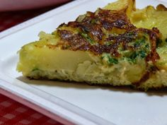 Tortilha de Cebola e Batata