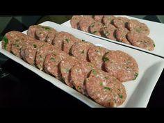 AKŞAMA NE PİŞİRSEM DİYENLER BURDA MI? LEZZET GARANTİLİ ANNE KÖFTESİ👍 - YouTube Sausage, Meat, Baking, Ethnic Recipes, Food, Bakken, Eten, Bread, Sausages