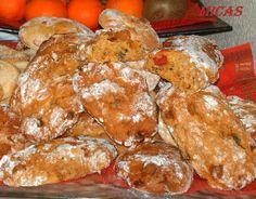 Broas de frutas com batata doce e abóbora