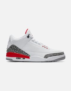 quality design a6973 f0522 Air Jordan Retro 3 White Red   VILLA Jordan Retro 3, Air Jordan Iii
