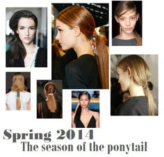 The Season of the #Ponytail #Spring2014 hottest #HairTrend is the ponytail in many variations from a #Sleekponytail, #looseponytail, #lowponytail, #sideponytail to even embellished ponytails. Read the full article here on the latest #SpringBeautyTrends and how to wear them now! http://www.theperfumeexpert.com/the-top-10-beauty-trends-for-spring-2014-and-how-to-wear-them-now/ #Hairstyles #hairaccessories #SpringHair #Springhairtrends