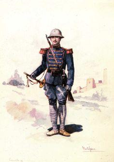 Portuguese Coastal Artillery soldier 1911