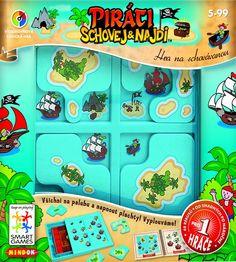 Smartgames Piráti: Schovej a najdi