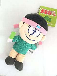 NEW OSOMATSU SAN MINI MASCOT KEY CHAIN MATSUNO OSOMATSU JAPAN ANIME