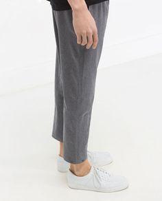 Imagen 3 de PANTALÓN CORDÓN de Zara Online Zara, Zara United Kingdom, Trousers, Normcore, Outfits, Men, Collection, Image, Style