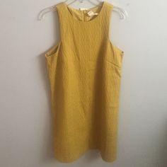 H&M mustard dress Yellow, textured dress H&M Dresses