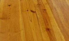 Longleaf Heart Pine Floors