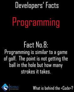 For me I just want my program to compile and run successfully