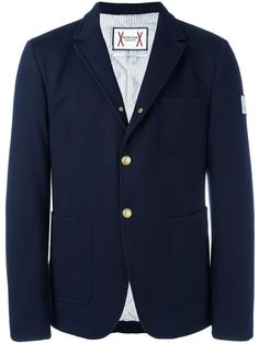Shop Moncler Gamme Bleu patch pockets blazer in Mantovani from the world's best independent boutiques at farfetch.com. Shop 400 boutiques at one address.
