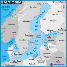 Map of Baltic Sea -World Atlas Northern European Capitals Cruise Disney Cruise Line 2010 Cruise Europe, Packing For A Cruise, Cruise Vacation, Disney Cruise Line, Baltic Sea Cruise, Sea World, Travel Couple, Romantic Getaway, Helsinki