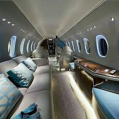 """""""Luxury private jet - Aviation - - D - Cars Jets Privés De Luxe, Luxury Jets, Luxury Boat, Luxury Private Jets, Private Plane, Luxury Travel, Millionaire Lifestyle, Wealthy Lifestyle, Rich Lifestyle"""