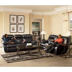 Sander Durablend - Charcoal Power Living Room Set Signature Design 94800-pmlr-set   Furniture Cart