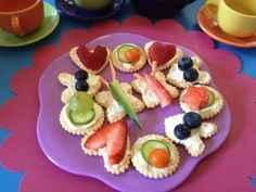 Spring Tea Party - Crackers